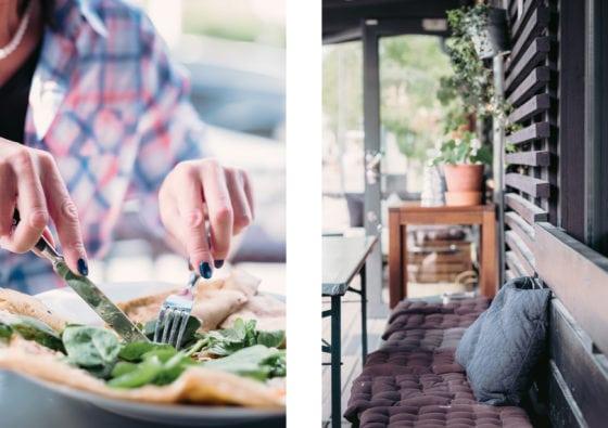 Äta galette och crepes på Åre creperie och logi