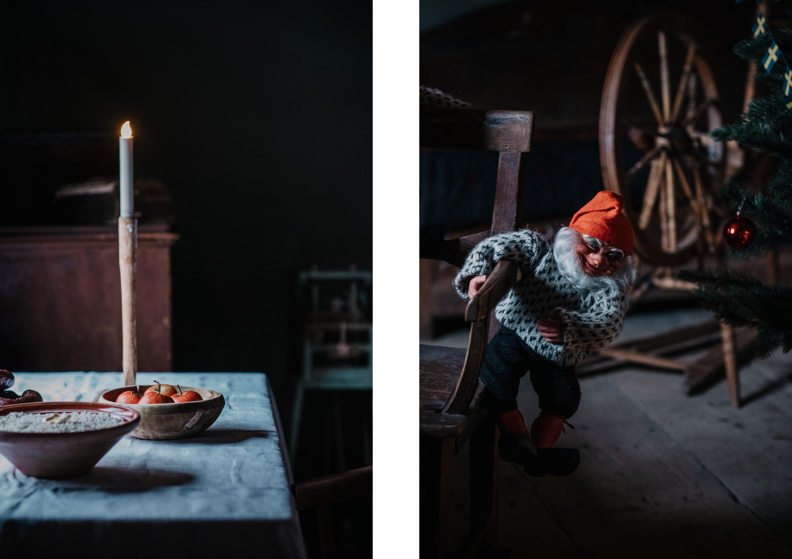 Firar första advent med gammaldags julmarknad på Vallby fritidsmuseum